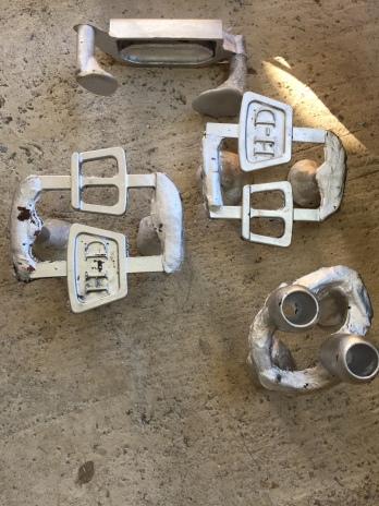 Grappes de fonderie pièces sur mesure Harley Davidson softail by Run Iron Works