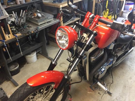 customisation Suzuki Intruder