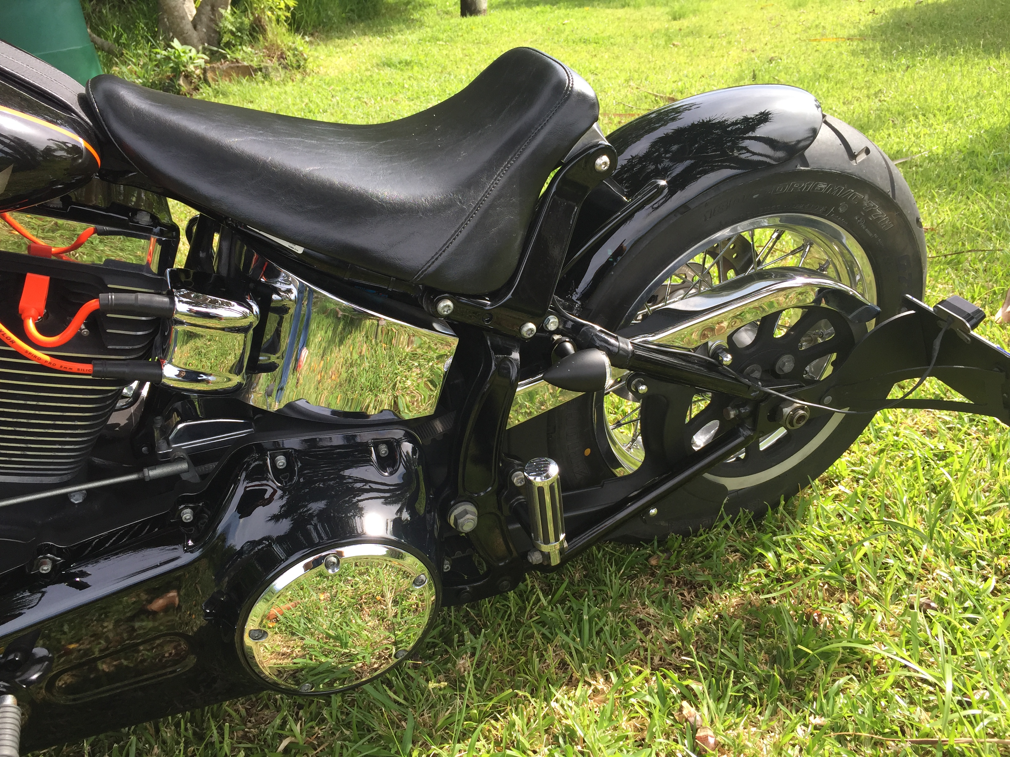 Moto Harley Davidson customisé par Run Iron Works