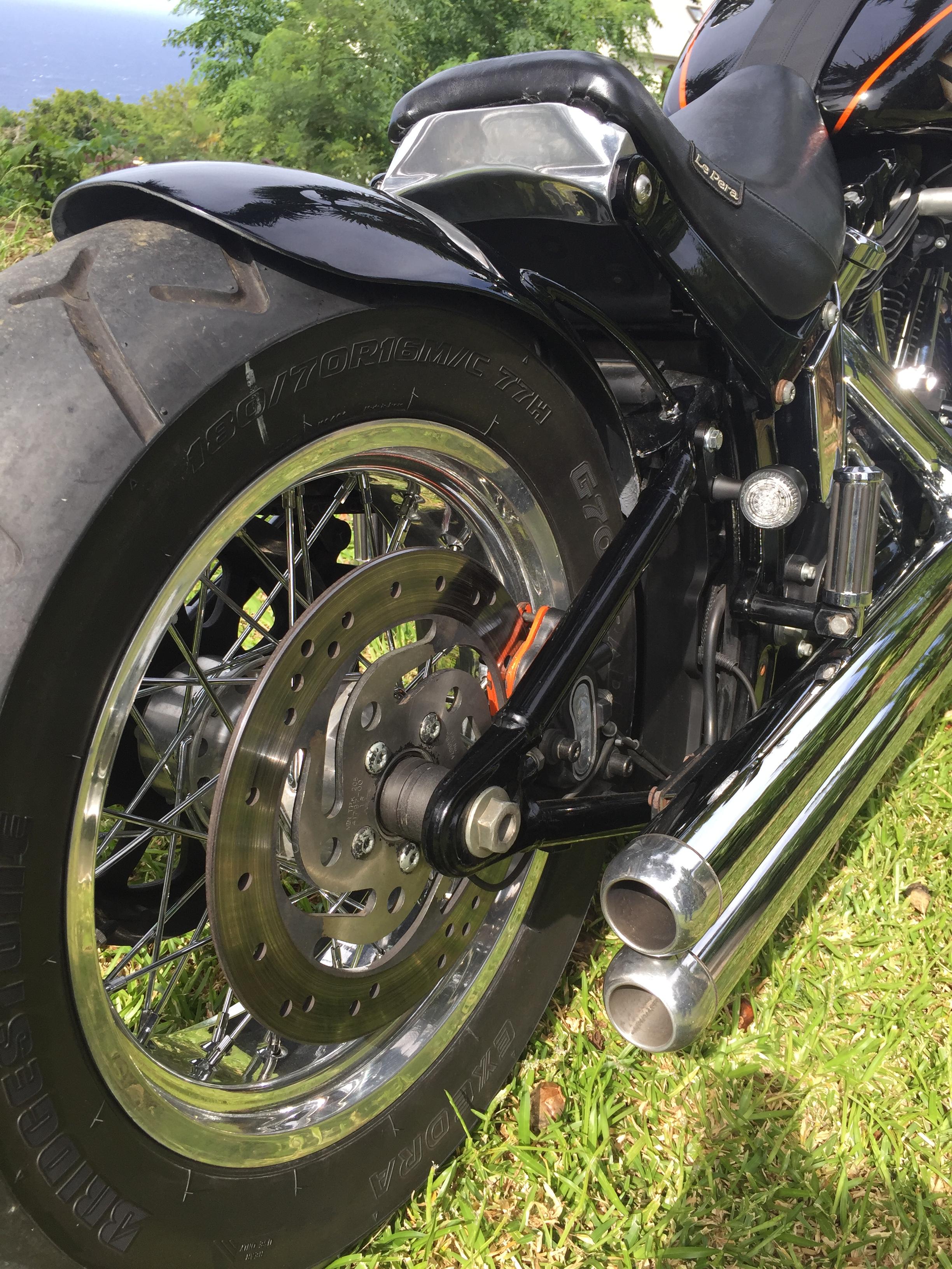 Moto Harley Davidson customisé par Run Iron Works