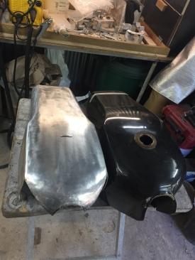 réservoir tôle d'aluminium HARLEY DAVIDSON by run iron works